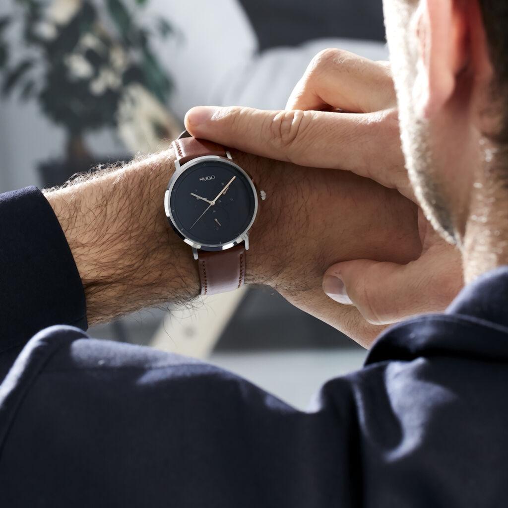 Montre Hugo Business Bleu - Montres classiques Homme   Histoire d'Or