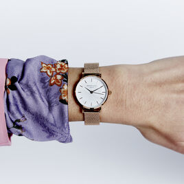 Montre Rosefield The Small Edit Blanc - Montres tendances Femme   Histoire d'Or