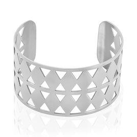Manchette Acier Motifs Geometriques - Bracelets fantaisie Femme | Histoire d'Or