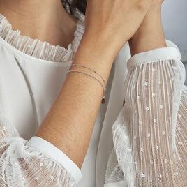 Bracelet Argent Rhodié Mireio - Bracelets fantaisie Femme | Histoire d'Or
