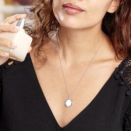 Collier Ankara Argent Blanc - Colliers fantaisie Femme   Histoire d'Or