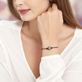 Bracelet Reba Perle De Culture De Tahiti - Bracelets cordon Femme   Histoire d'Or