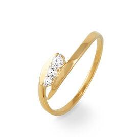 Bague Amandina Or Jaune Oxyde De Zirconium - Bagues avec pierre Femme | Histoire d'Or