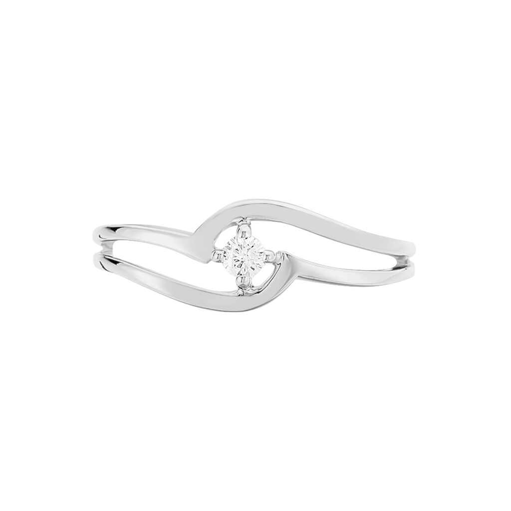 Bague Onenn Or Blanc Diamant