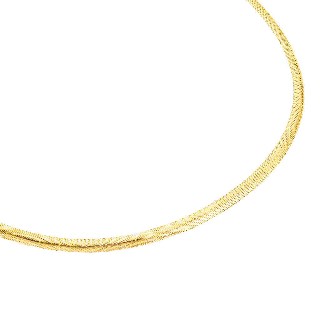Collier Izaro Maille Flex Or Jaune - Chaines Femme | Histoire d'Or