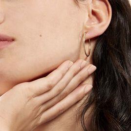 Créoles Valencina Flexibles Or Jaune - Boucles d'oreilles créoles Femme   Histoire d'Or