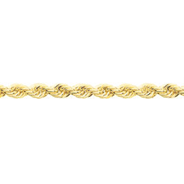 Collier Naelya Maille Corde Or Jaune - Chaines Femme   Histoire d'Or