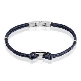Bracelet Acier Grain Cafe Cordons - Bracelets cordon Homme | Histoire d'Or