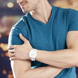 Montre Armani Exchange Drexler Blanc - Montres tendances Homme | Histoire d'Or