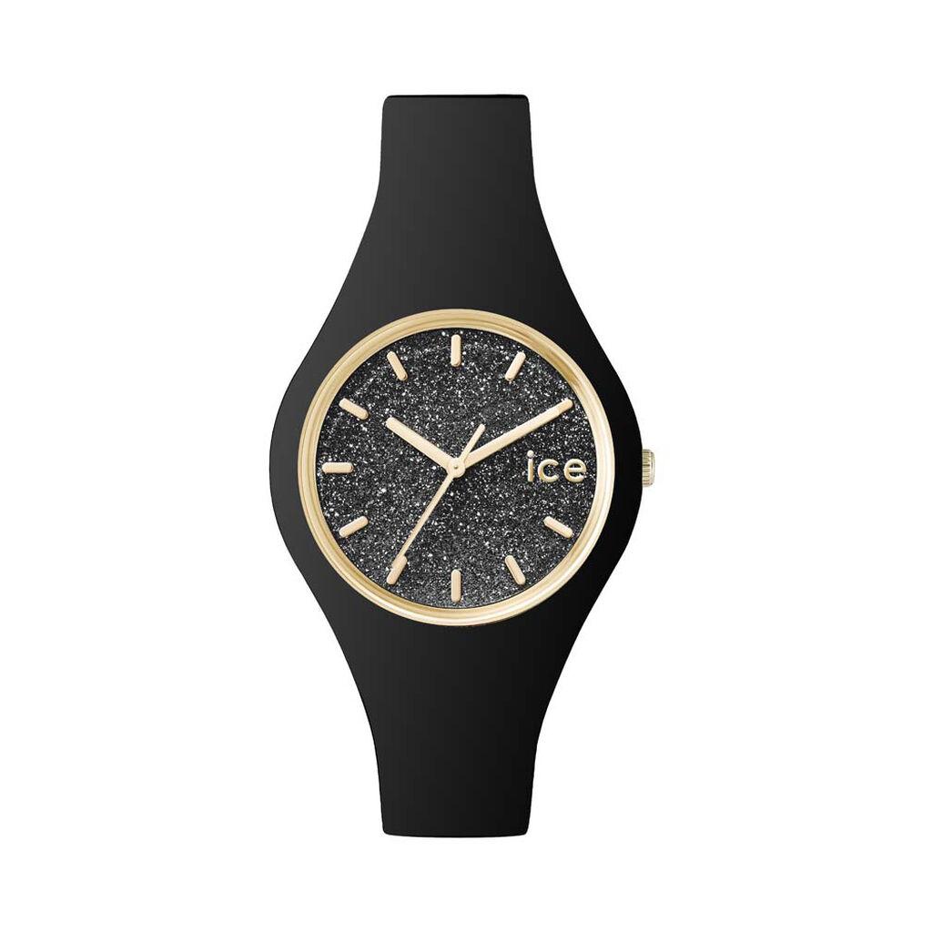 Montre Ice Watch Glitter Noir - Montres Femme   Histoire d'Or