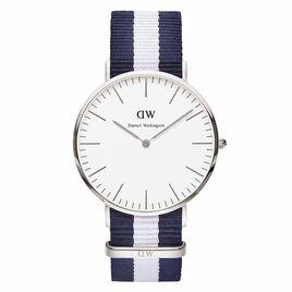 Montre Daniel Wellington Classic Glasgow Blanc - Montres tendances Homme | Histoire d'Or