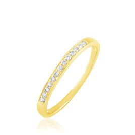 Alliance Juliette Or Jaune Diamant - Alliances Femme   Histoire d'Or