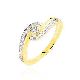 Bague Solitaire Vassilissa Or Jaune Diamant - Bagues solitaires Femme | Histoire d'Or