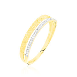 Bague Belinda Or Jaune Diamant - Bagues avec pierre Femme | Histoire d'Or