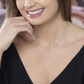 Collier Gally Or Blanc Diamant - Bijoux Femme | Histoire d'Or