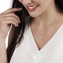 Collier Rohanna Or Jaune Oxyde De Zirconium - Colliers Coeur Femme | Histoire d'Or
