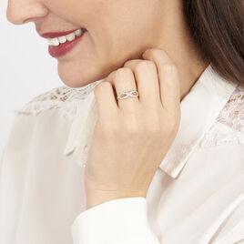 Bague Vaguelette Or Jaune Diamant - Bagues avec pierre Femme   Histoire d'Or