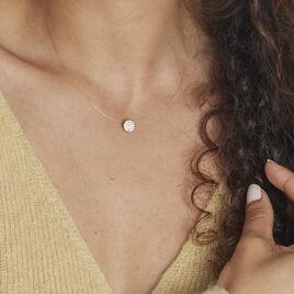 Collier Yvelyne Or Jaune Oxyde De Zirconium - Bijoux Femme   Histoire d'Or