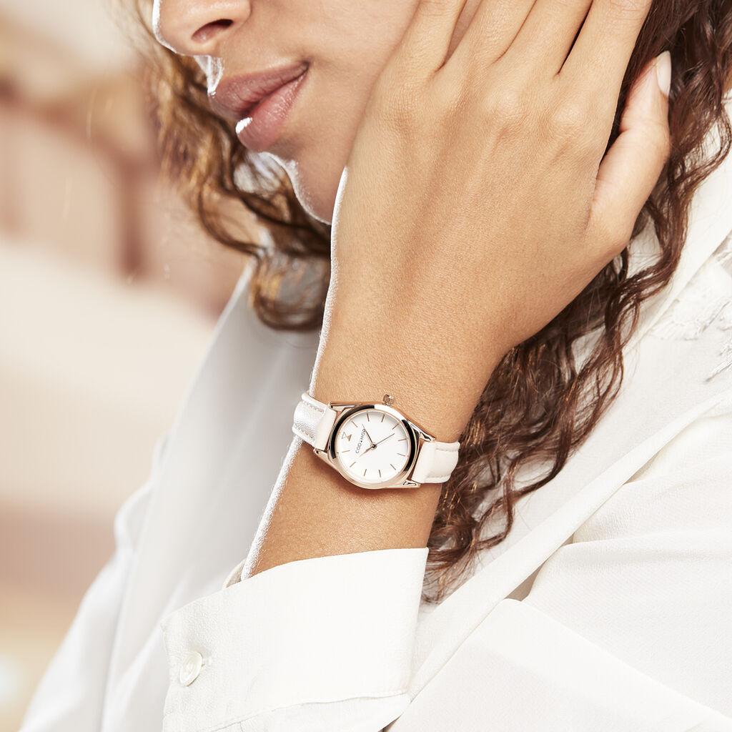 Montre Codhor Anais Blanc - Montres classiques Femme   Histoire d'Or