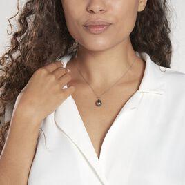 Pendentif Syana Or Blanc Perle De Culture De Tahiti - Pendentifs Femme   Histoire d'Or