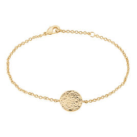Bracelet Blanka Plaque Or Jaune - Bracelets fantaisie Femme | Histoire d'Or