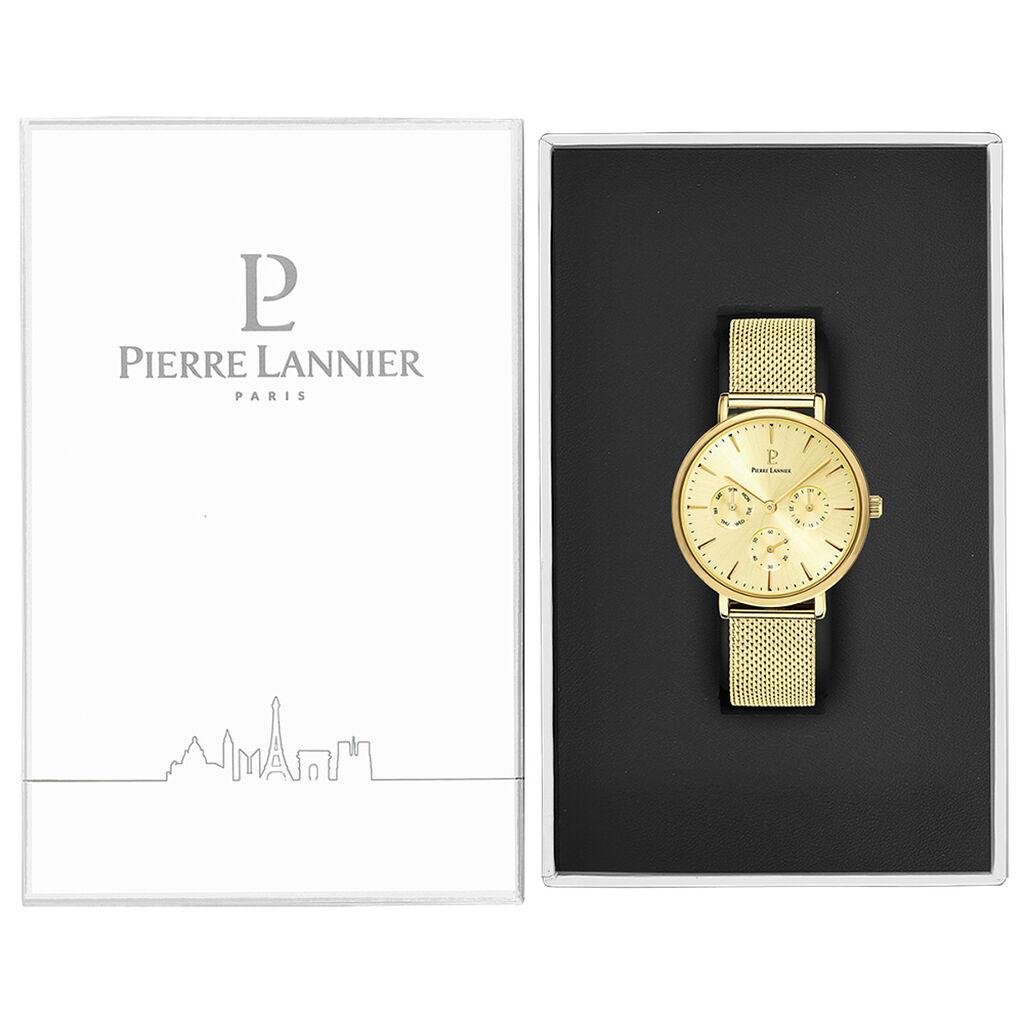 Montre Pierre Lannier Symphony Champagne - Montres tendances Femme   Histoire d'Or