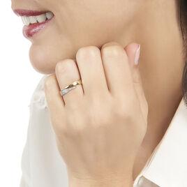 Bague Lyuba Or Jaune Diamant - Bagues avec pierre Femme | Histoire d'Or