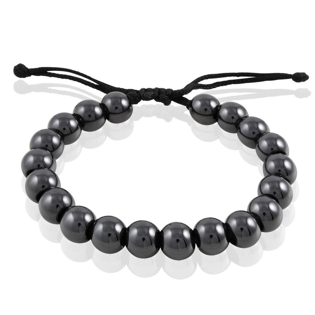 Bracelet Workhiya Ceramique Noir Céramique - Bracelets fantaisie Femme   Histoire d'Or