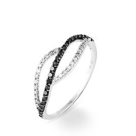Bague Emmeline Or Blanc Diamant - Bagues avec pierre Femme | Histoire d'Or