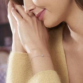 Bracelet Maria Or Blanc Et Diamant - Bijoux Femme | Histoire d'Or