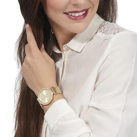 Montre Michael Kors Parker Champagne - Montres Femme | Histoire d'Or