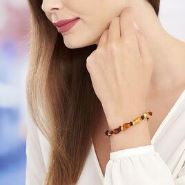 Bracelet Ajana Ambre - Bijoux Femme   Histoire d'Or