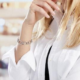 Bracelet Aglaee Argent Blanc - Bijoux Femme   Histoire d'Or