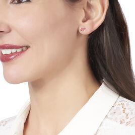 Boucles D'oreilles Puces Sulivia Papillon Or Jaune - Clous d'oreilles Enfant | Histoire d'Or