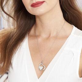 Collier Modernity Acier Blanc - Colliers Coeur Femme | Histoire d'Or