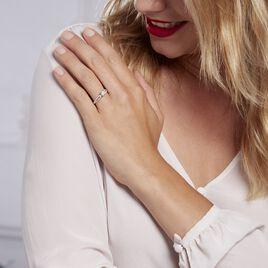 Bague Solitaire Stockholma Platine Blanc Diamant - Bagues solitaires Femme   Histoire d'Or