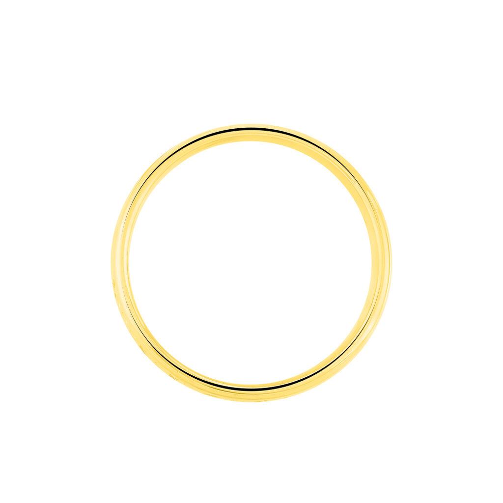 Alliance Defne Or Jaune Diamant - Alliances Unisexe   Histoire d'Or