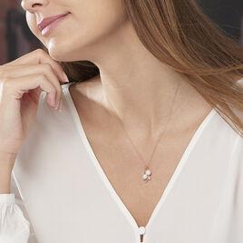 Collier Wandula Or Jaune Perle De Culture Et Diamant - Bijoux Femme   Histoire d'Or