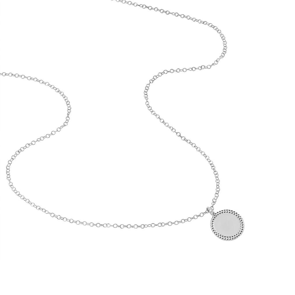 Collier Tam Argent Blanc - Colliers fantaisie Femme | Histoire d'Or