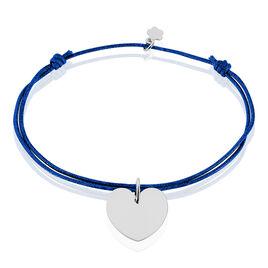 Bracelet Paula Argent Blanc - Bracelets Coeur Femme | Histoire d'Or