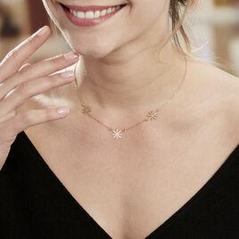 Collier Olva Argent Blanc - Colliers fantaisie Femme | Histoire d'Or