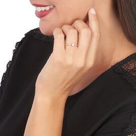 Bague Solitaire Eloize Or Rose Diamant - Bagues avec pierre Femme | Histoire d'Or