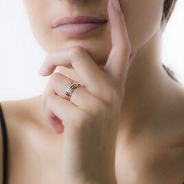 Bague Nermine Or Jaune Diamant - Bagues avec pierre Femme | Histoire d'Or