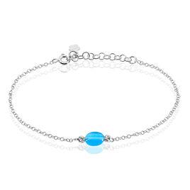 Bracelet Corelana Argent Blanc Pierre De Synthese - Bracelets fantaisie Femme | Histoire d'Or