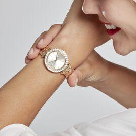 Montre Michael Kors Mini Darci Champagne - Montres Femme | Histoire d'Or
