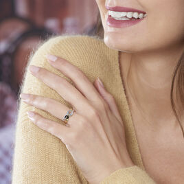 Bague Suzana Or Bicolore Topaze - Bagues solitaires Femme | Histoire d'Or