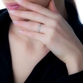 Bague Charlye Or Blanc Diamant - Bagues avec pierre Femme | Histoire d'Or