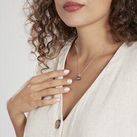 Pendentif Nilma Or Jaune Perle De Culture De Tahiti Et Diamant - Pendentifs Femme | Histoire d'Or