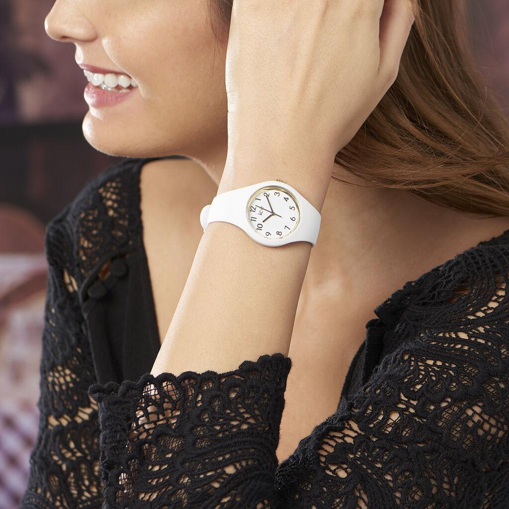 Montre Ice Watch Glam Blanc - Montres sport Femme | Histoire d'Or