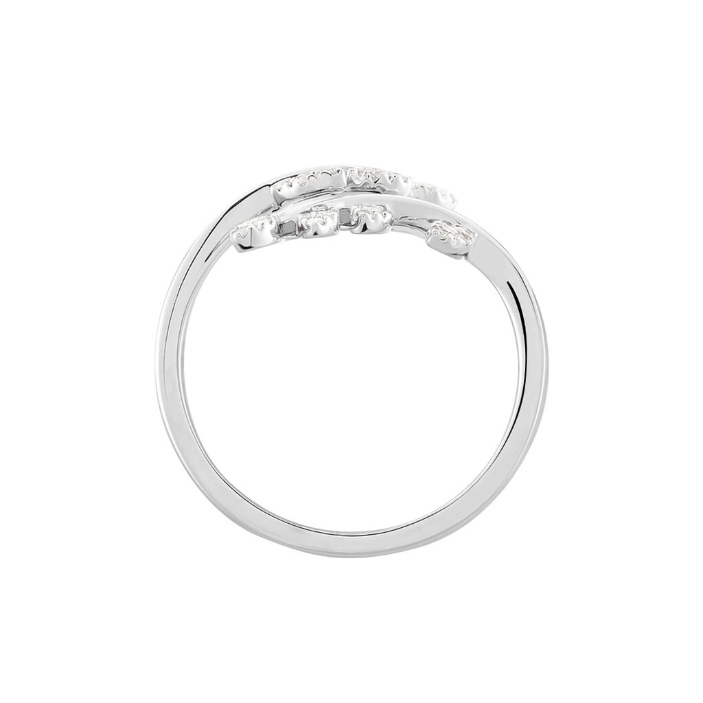 Bague Abbey Or Blanc Diamant